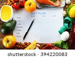 diet food and diet plan on