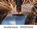 spot welding industrial... | Shutterstock . vector #394293643