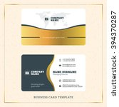 creative golden business... | Shutterstock .eps vector #394370287