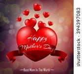 happy mother's day.vector | Shutterstock .eps vector #394397083