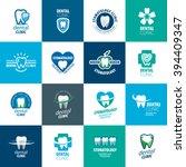 vector logo dentistry | Shutterstock .eps vector #394409347
