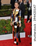 Small photo of LOS ANGELES, CA - JANUARY 30, 2016: Actress Alicia Vikander at the 22nd Annual Screen Actors Guild Awards at the Shrine Auditorium