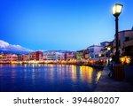 Waterfront Of Venetian Habour...
