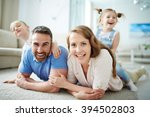 staying at home | Shutterstock . vector #394502803