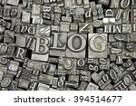 close up of old used metal... | Shutterstock . vector #394514677