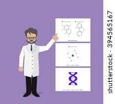 chemistry class | Shutterstock .eps vector #394565167