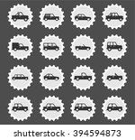 cars simply  simply symbols for ... | Shutterstock .eps vector #394594873