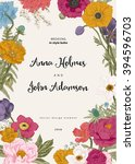 Wedding Invitation. Spring...