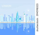 london   capital city of the...   Shutterstock .eps vector #394598323