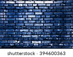 Brick Blue Wall