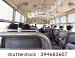 bus in thailand  ... | Shutterstock . vector #394683607