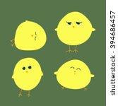 spring chicken | Shutterstock .eps vector #394686457
