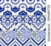 stylish seamless pattern... | Shutterstock .eps vector #394689733