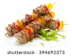 Skewered On Wooden Sticks Tast...