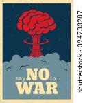 Vector Vintage Poster  Say No...
