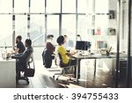 business computer communication ... | Shutterstock . vector #394755433