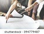 architect design project... | Shutterstock . vector #394779487
