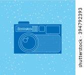 camera icon design    Shutterstock .eps vector #394792393