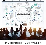 development improvement... | Shutterstock . vector #394796557