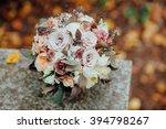 Bridal  Wedding Bouquet On...