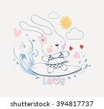 hand drawn vector illustration... | Shutterstock .eps vector #394817737