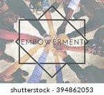 empowerment enable improvement... | Shutterstock . vector #394862053