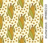 vector vegetable background.... | Shutterstock .eps vector #394882213