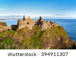 Ruins Of Dunluce Castle In...