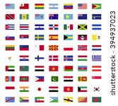 flags of world countries | Shutterstock .eps vector #394937023