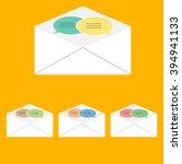 letter talking | Shutterstock .eps vector #394941133