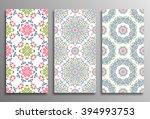 set vintage universal different ...   Shutterstock .eps vector #394993753