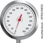 metal gauge | Shutterstock .eps vector #395019853