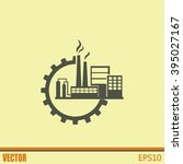 industrial icon | Shutterstock .eps vector #395027167