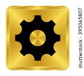 settings   black vector icon  ... | Shutterstock .eps vector #395065807