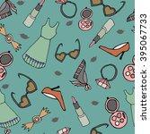 fashion pattern | Shutterstock .eps vector #395067733