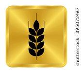 wheat   black vector icon  ... | Shutterstock .eps vector #395072467