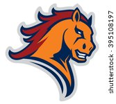 mustang sport mascot | Shutterstock .eps vector #395108197