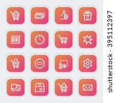 shopping web icons | Shutterstock .eps vector #395112397