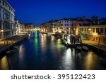 Venice  Grand Canal At Night.