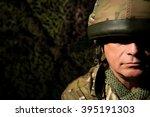 shell shocked soldier | Shutterstock . vector #395191303