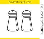 Salt And Pepper Shakers Linear...