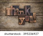 thank you  phrase set  on two... | Shutterstock . vector #395236927