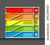information infographic... | Shutterstock .eps vector #395259457