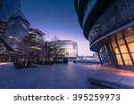 southwark in london business... | Shutterstock . vector #395259973