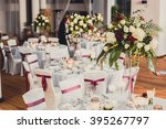 wedding decorations | Shutterstock . vector #395267797