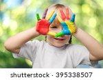 child. | Shutterstock . vector #395338507