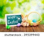 easter. | Shutterstock . vector #395399443