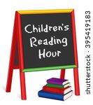 Reading Hour Chalkboard  Chalk...