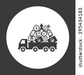 truck icon  vector illustration....