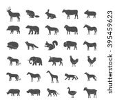 set of vector illustrations... | Shutterstock .eps vector #395459623
